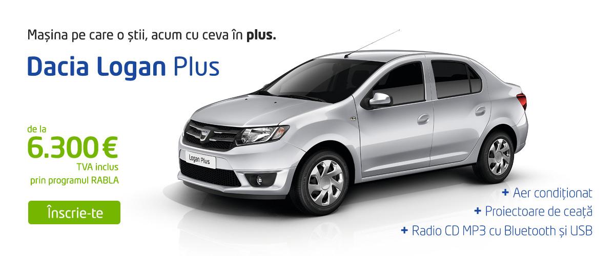 Dacia Logan Plus Programul Rabla